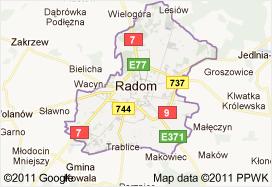 radom gmina powiat